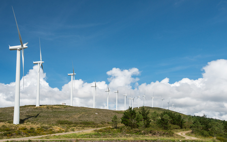 windpower: windmill powered plant on Hilltop