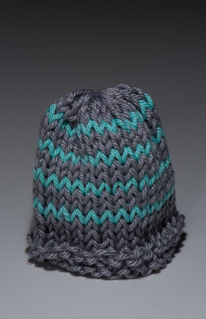 bobble: little knitted bobble cap using for egg cozy and warm
