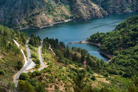 sil: Rio Sil in Galicia, Spain, near to Ourense
