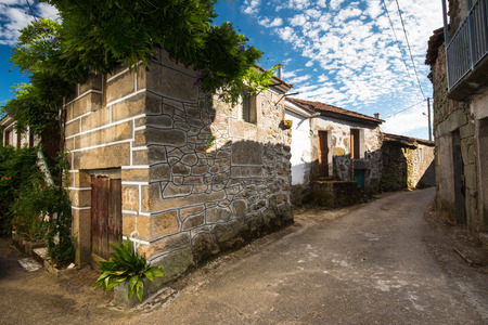 finery: new finery at old residential house in little village in Galicia, Spain, Europe