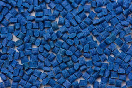 ultramarine blue plastic polymer resins with glass-fibre