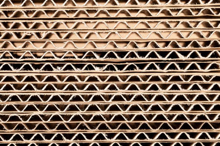 Close up of corrugated Cardboard. This file is cleaned and retouched.