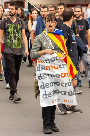 Manifestation on the street