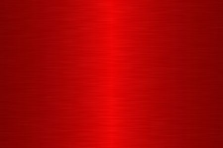 Linear brush metal - Red Stock Photo