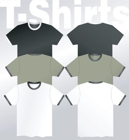 t-Shirts - vector Illustration