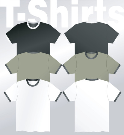 xl: t-Shirts - vector Illustration