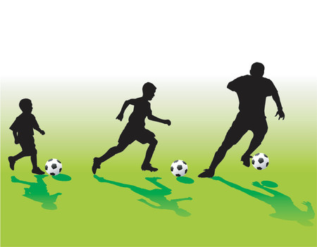 Soccer generation - vector