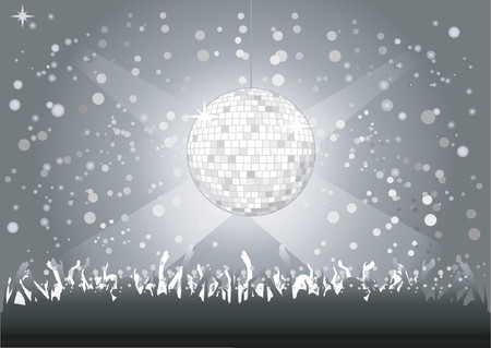 discoball: Discoball - Vector! Illustration