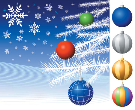 Christmas decorations - Vector! Stock Vector - 571056