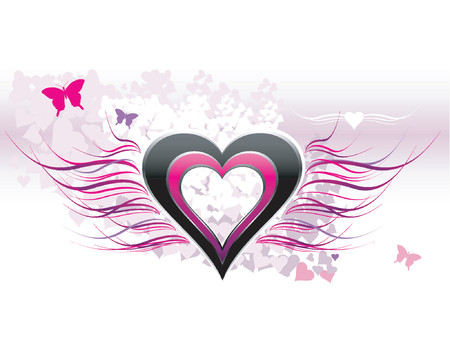 Love - Abstract Background - VECTOR Stock Vector - 571054