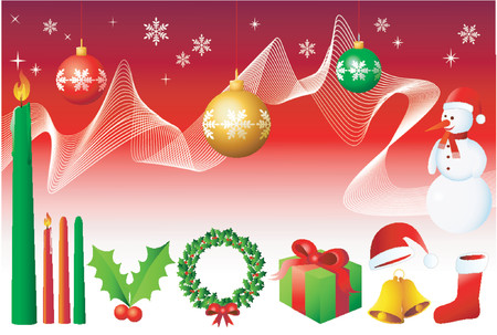 Christmas Design Elements - Vector! Stock Vector - 623013