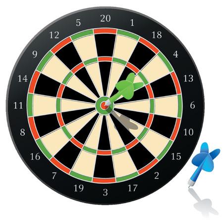 Vector Darts! Illustration
