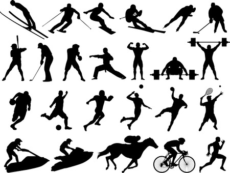 Vector  Silhouettes Stock Vector - 2835731