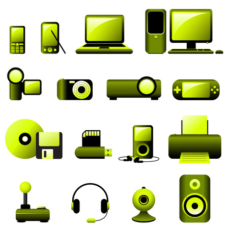 Multimedia Vector Icons Vector