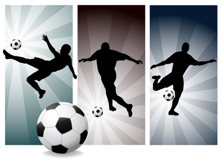 check out: Vector Soccer Players. Easy Change Colors. (Check out my portfolio for other silhouettes)