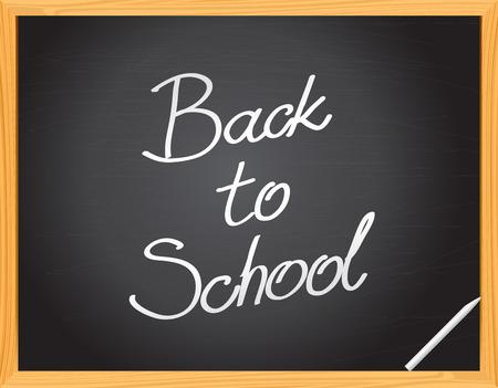 lavagna: Vector Lavagna - - Back to School