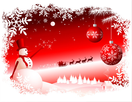 Vector Christmas Background Stock Vector - 5656538