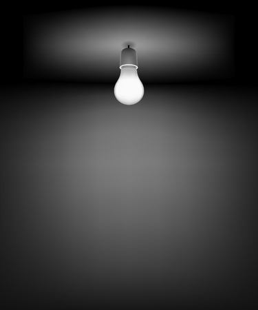 light and dark: Background for Good Idea.  DARK ROOM