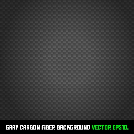 GRAY carbon fiber background Vector