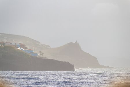 Like waking from a dream and see the sun rise at  the coastline of Caniço de Baixo