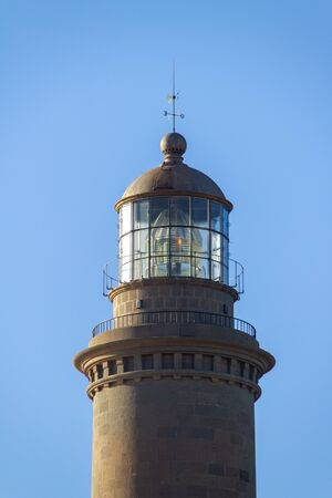 Top of the Faro Maspalomas lighthouse