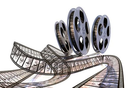 Rolling Films! Premiere countdown! Hi quality rendering image. Stock Photo - 6117701