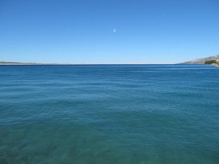 Quiet sea level in the bay