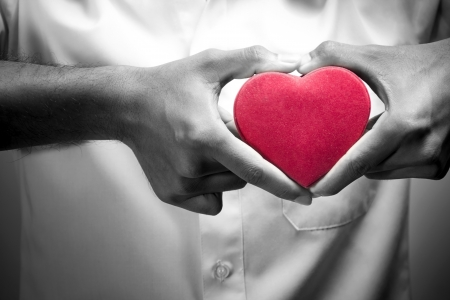 red heart attack