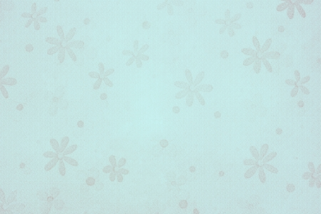 blue vintage flower background