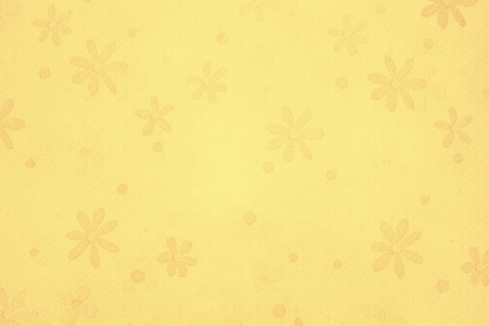 yellow vintage flower background