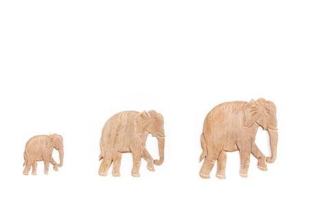 elephants wood