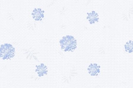 blue vintage flower