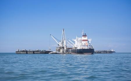 ocean mining Stock Photo