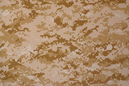 camouflage: Desert digital camouflage, fabric