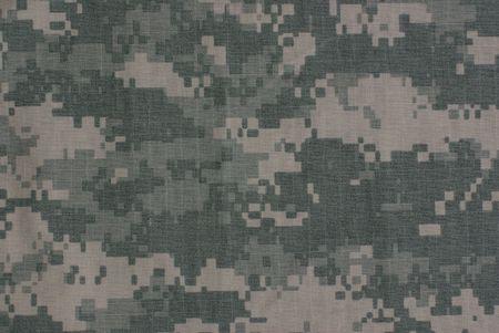 Army combat uniform, camouflage fabric Stock Photo