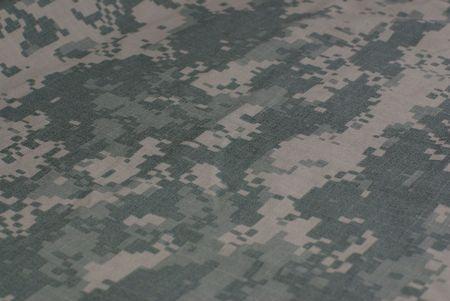 camouflage army combat uniform, fabric photo
