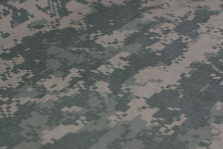 acu: camouflage army combat uniform, fabric