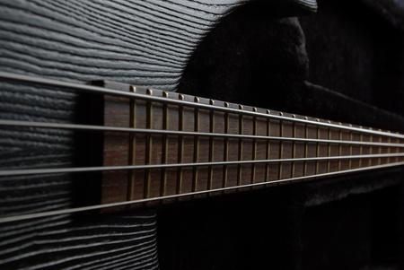 Guitar neck Stock Photo - 12105325