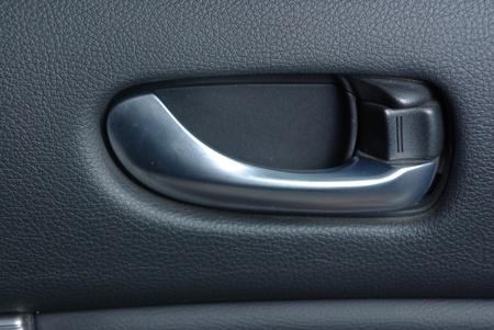 Car door handle Stock Photo