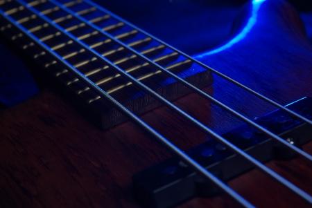 Guitar details Stock Photo