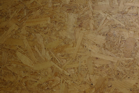 Wooden particleboard