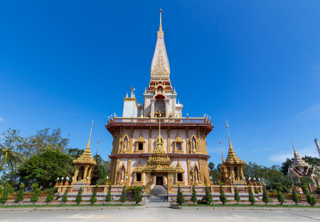 Wat Chalong, Phuket, Thailand. photo