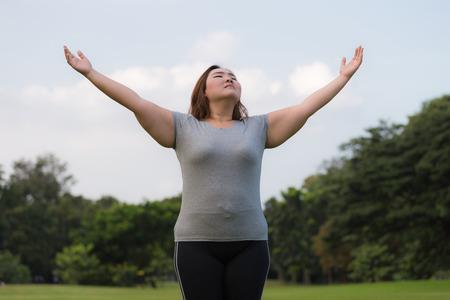 donne obese: le donne obese boccata d'aria fresca.