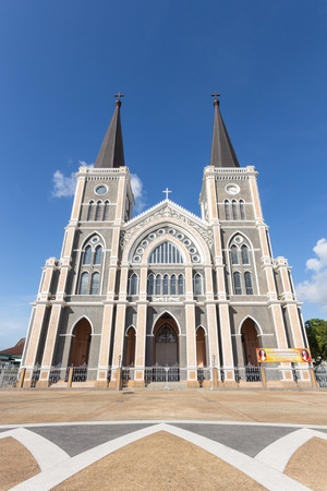 immaculate conception: Roman Catholic Diocese or Cathedral of the Immaculate Conception Chanthaburi Thailand.