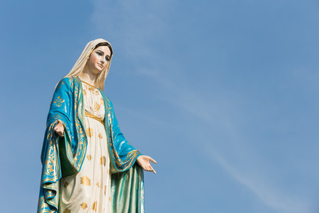 Saint Mary at Roman Catholic Diocese, Thailand. Stock Photo