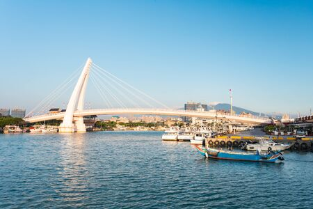 Lover's Bridge ,Tamshui Fisherman's Wharf, Taipei, Taiwan