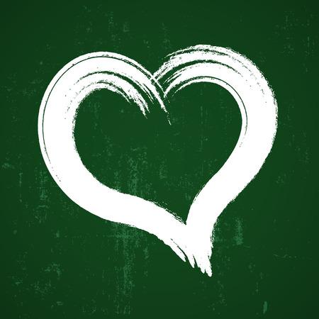 heart hand: heart hand drawn Illustration