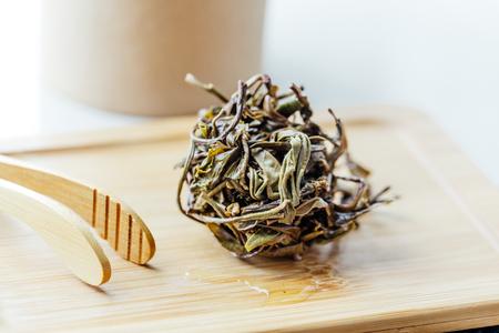 Pu'er tea leaves
