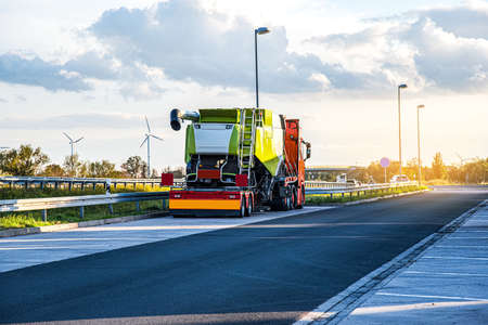 logistics of freight Europe, transport on the road