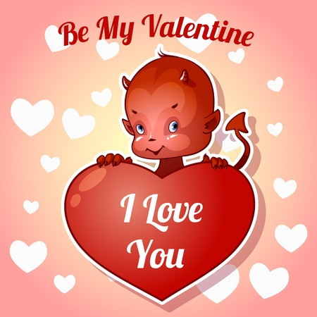 daemon: Postcard Valentine\